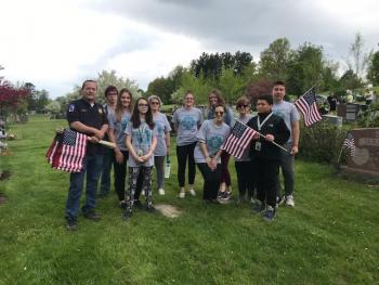Tilton Students Remember Veterans