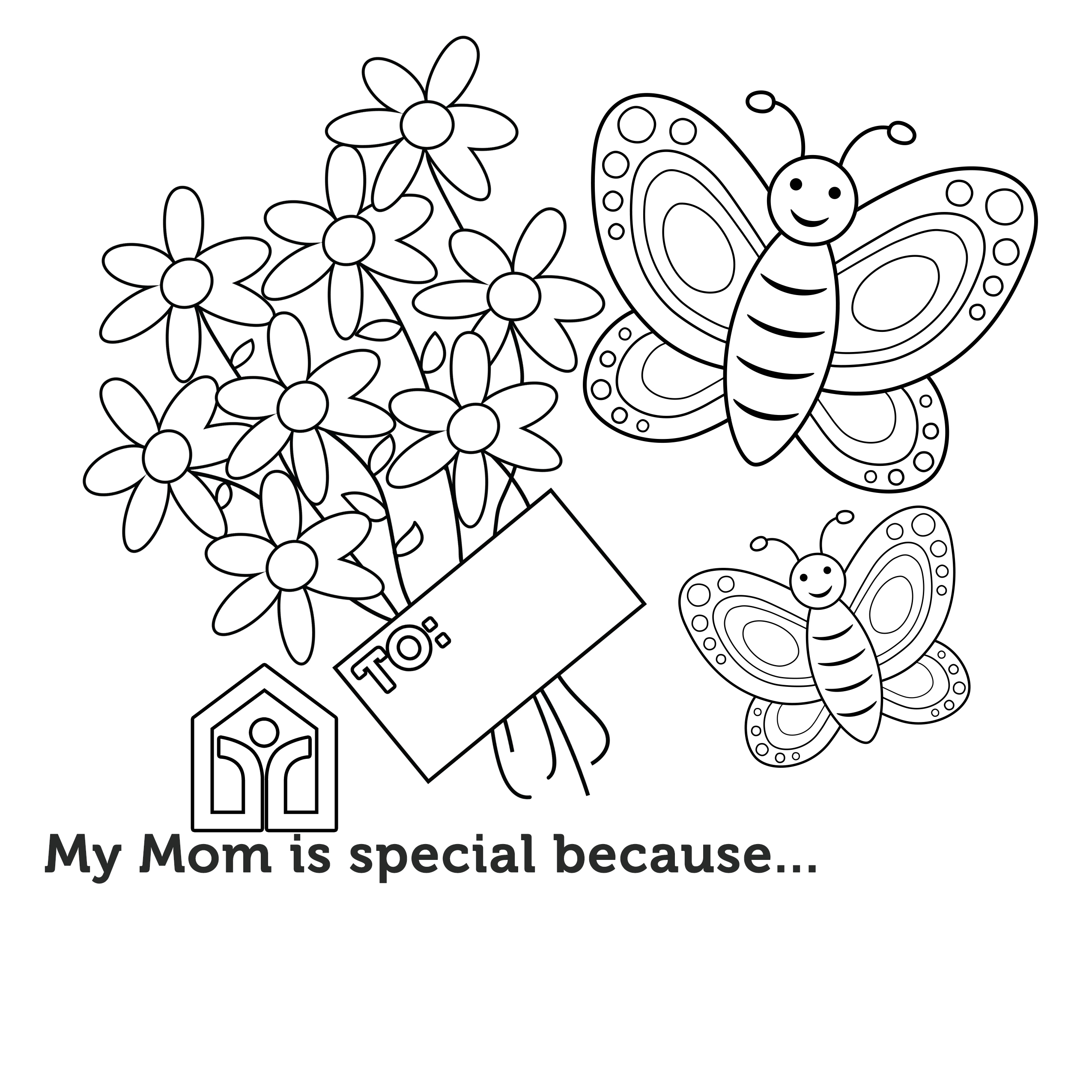 Mother's Day Coloring Contest 2020