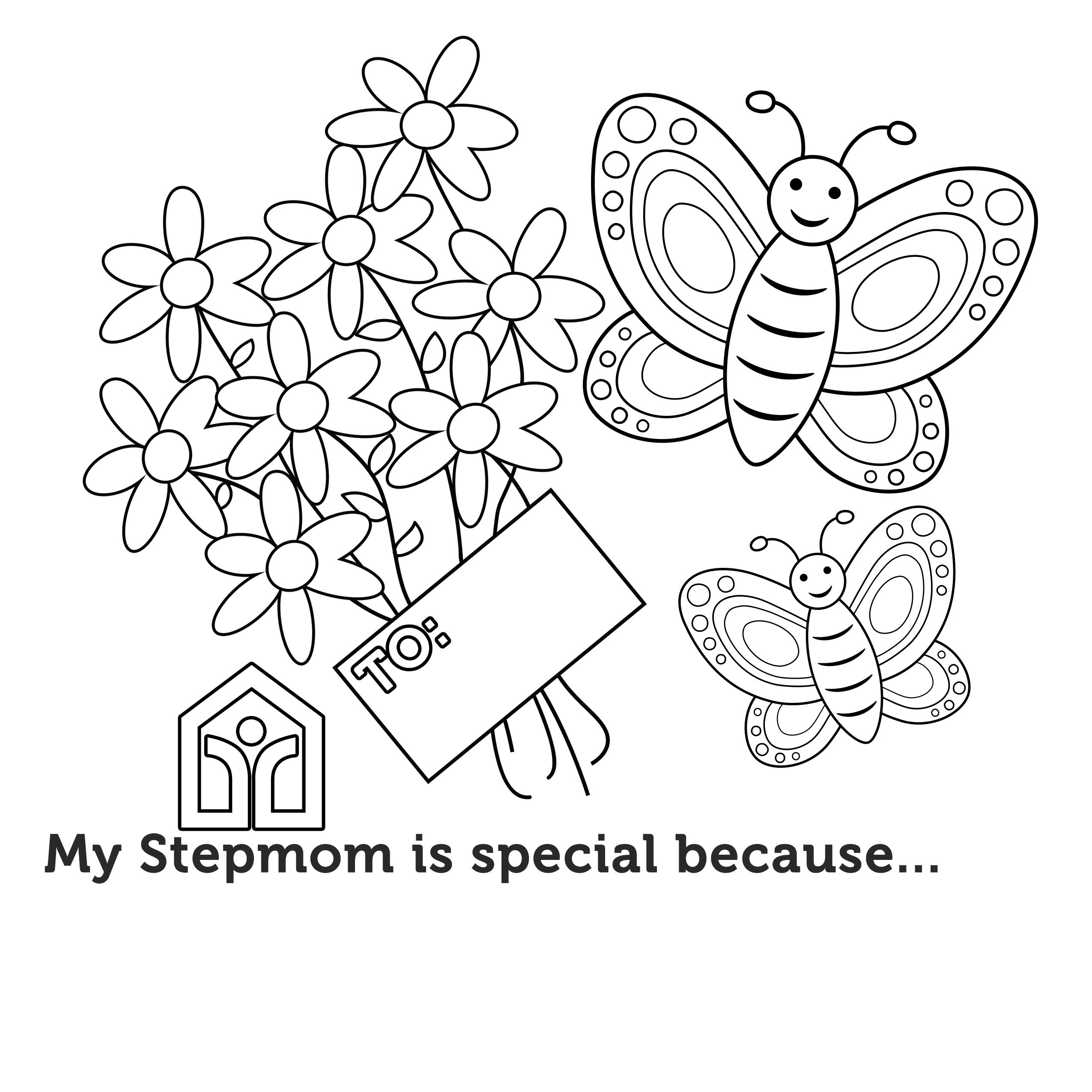 Mother's Day Coloring Contest – STEPMOM