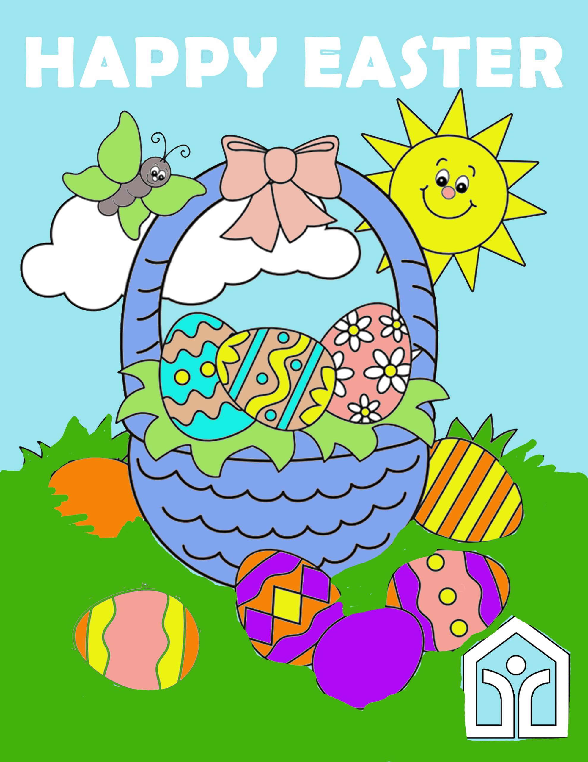 Easter Coloring Contest 2021